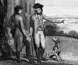 Mount Vernon: Washington and dog