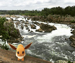 Great Falls Pokemon Go