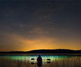 Kayak at Night - NOVA Parks