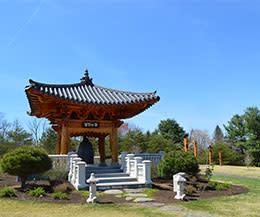 Korean Bell Garden - Meadowlark Botanical Gardens