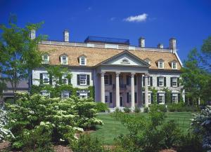 Exterior of the George Eastman Museum