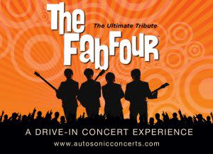 Fab Four Drive In Concert Banner