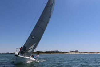 Performance Sailing off Wrightsville Beach, NC