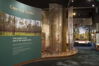 Cape Fear Museum - Cape Fear Stories exhibit
