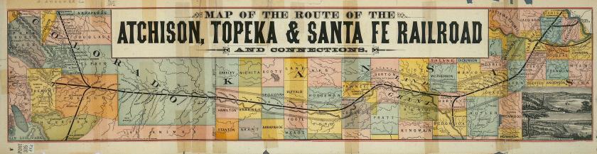 AT&SF Map