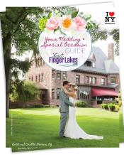 Cover of the Visit Finger Lakes wedding and special occasions guide