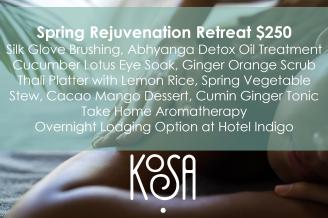 Spring Rejuvenation Retreat