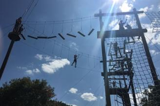 Build Your Team with the Madison College Challenge Course