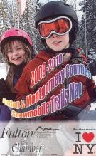 Fulton and Montgomery Counties Snowmobile Trails map