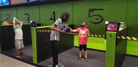 Press Play has 8 virtual reality booths