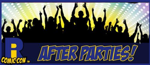After Parties Rhode Island Comic Con Logo
