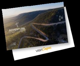 Adventure Starts Here Postcard