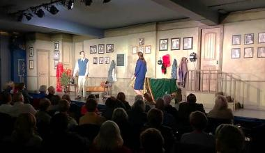TheatreWorks of SoIN crowd and stage