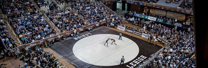 Lehigh University Wrestling Match