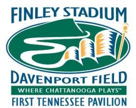 Finley stadium logo