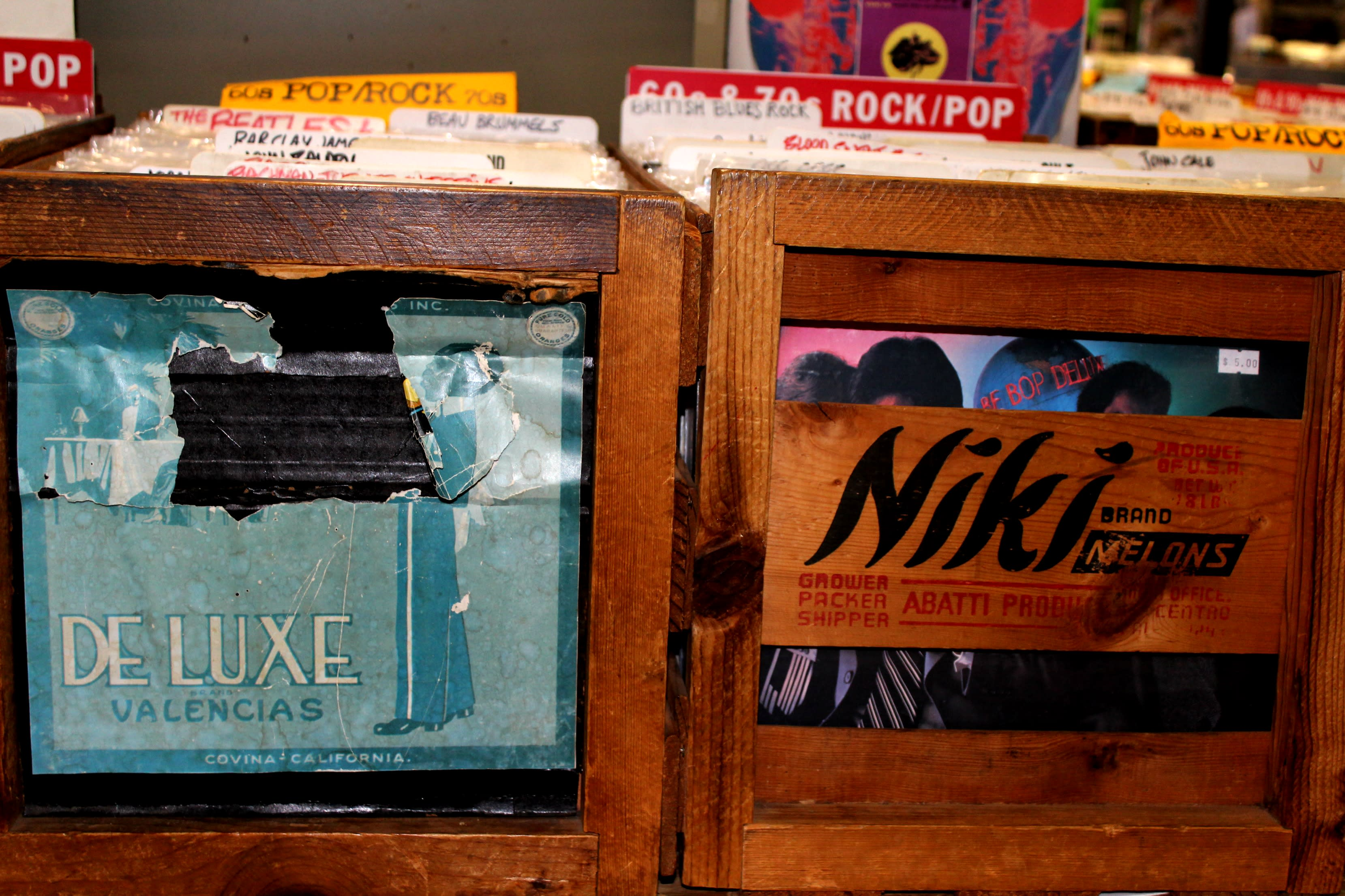 Wuxtry Record Boxes