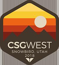 CSG West 2018 Annual Meeting Logo