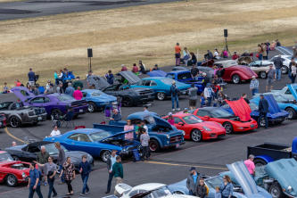 Wings and Wheels Car Show in Gig Harbor