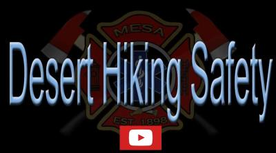 Desert Hiking Safety Video