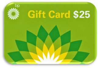 Gas Gift Card