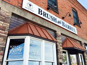 Brush & Barrel Exterior