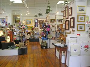 A selection of arts from local artists and makers can be found at Village Artisans Gallery in Boiling Springs.
