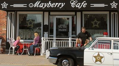The Mayberry Cafe in Danville, IN