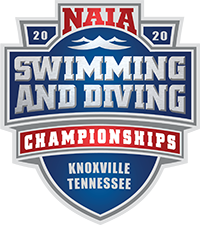 NAIA Swimming and Diving logo