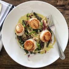 Surf House scallop dish