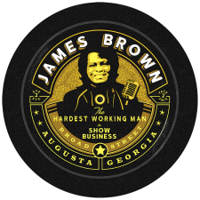 James Brown Statue Vinyl Tour