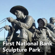 First National Bank Sculpture Brochure