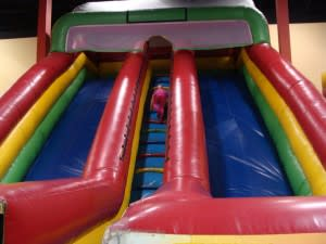 Your kids will love all the bounce house options.