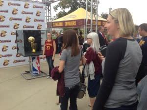 Cavaliers trophy