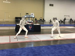 Fencing match