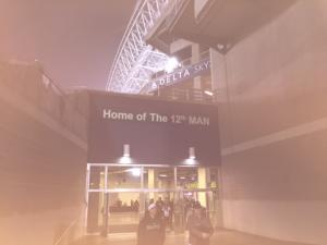 Seattle Seahawks Game 12th man at Centurylink Field