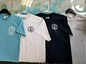 New Lake Norman t-shirt designs, teal, white, and black