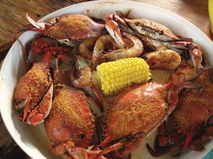 eace River Seafood Blue Crab & Shrimp