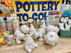 Pottery to Go by Bisque It Studio