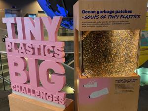 Vancouver Aquarium Plastics Display