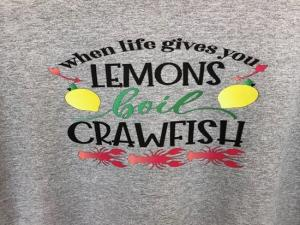 Crawfish Tshirt