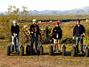 Segway tour at Fort McDowell Adventures