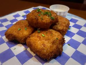 Bootleggers Pizza Risotto Nuggets
