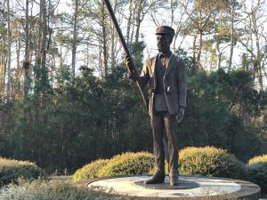 Richard Etheridge Statue