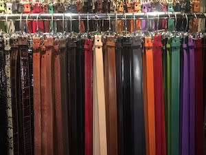 Handmade Artisan Leather Belts by Large Leather