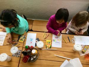 Laura Burton kids restaurant blog