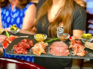 Charcuterie at Trio Beer Cheese and Wine, Outer Banks, North Carolina