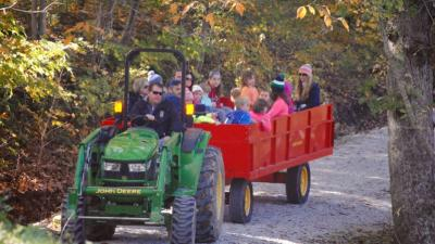 Take the family on a hayride at the Fall Colors Festival at McCloud Nature Park!