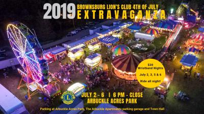 You don't want to miss the 2019 4th of July Extravaganza in Brownsburg!