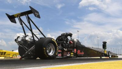 Drag racing and fireworks? Yes please! (Photo courtesy of NHRA.com)