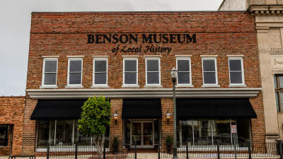 Visit the historic museum in Downtown Benson, the Museum of Local History is a unique stop.